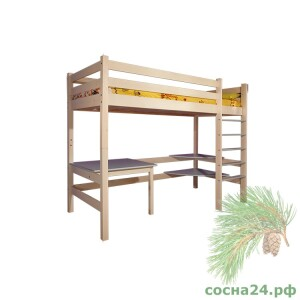 Кровать В-ярусная со столом №2 (3)